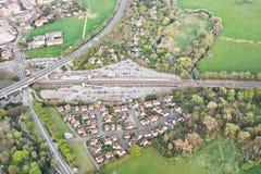 Huntingdon järnvägsstation Royaltyfri Fotografi