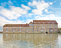 Huntingdon ouse wielki brzeg rzeki Zdjęcia Royalty Free