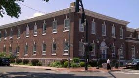 Huntington-öffentliche Bibliothek (2 von 2) stock video footage
