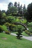 Huntington arkiv och trädgårdar, japanska trädgårdar, Pasadena, CA royaltyfri bild
