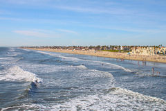 Huntington Beach Royalty Free Stock Photography