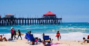 Huntington Beach California fotografía de archivo libre de regalías