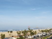 Huntington Beach di PCH fotografia stock