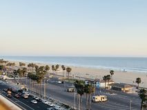 Huntington Beach di PCH immagine stock