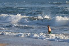 Huntington Beach fotografie stock libere da diritti