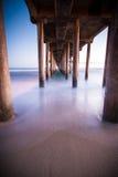 Huntington Beach Peir Stockfoto