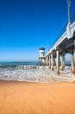 Huntington Beach Pier Stock Image