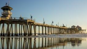 Huntington Beach Pier HDR Stock Photos