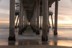 Huntington Beach Pier Stock Image