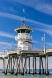 The Huntington Beach Pier Royalty Free Stock Photos