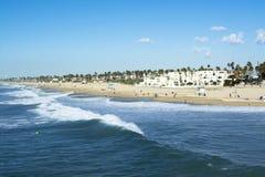 Huntington Beach shore Royalty Free Stock Photography