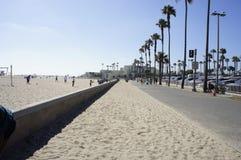 Huntington Beach Sidewalk Stock Photos