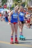 Huntington Beach 4th of July Parade, California, USA royalty free stock image