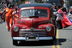 Huntington Beach 4th of July Parade, California, USA stock photo