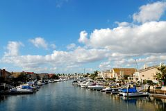 Huntington Harbor Stock Photography