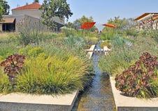 Huntington-Museum: Wasser-Garten Stockfoto