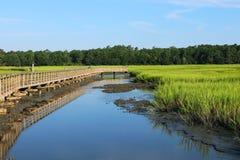 Huntington plaży stanu park, Południowa Karolina, usa zdjęcia stock