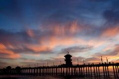 Huntington plaża Zdjęcia Stock