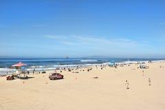 Huntington plaży Kalifornia linia brzegowa Obraz Royalty Free
