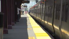 Huntington train station stock video