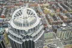 111 Huntington Turm in der Stadt von Boston - BOSTON, MASSACHUSETTS - 3. April 2017 Lizenzfreie Stockfotos