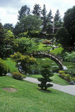 Huntingtonbibliotheek en Tuinen, Japanse Tuinen, Pasadena, CA royalty-vrije stock afbeelding