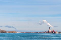 Huntley Generating Station Royalty Free Stock Photography
