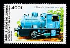 Huntley y Palmers (1932), viejo serie de las locomotoras, circa 1996 Fotografía de archivo libre de regalías