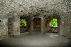 huntly城堡内部 库存照片