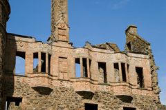 huntly城堡苏格兰 库存图片
