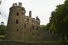 huntly城堡 图库摄影