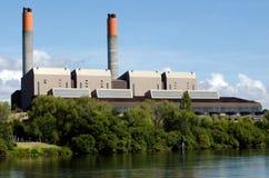 Centrale elettrica di Huntly immagini stock libere da diritti