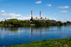 Huntly Power Station Royalty Free Stock Images