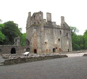 Huntly-Schloss, Aberdeenshire, Schottland Großbritannien Lizenzfreie Stockfotos