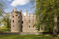 Huntly slott i Skottland Arkivfoto