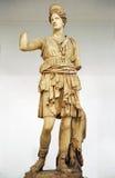 Huntress Diana, Artemis, μαρμάρινο γλυπτό Στοκ Εικόνα