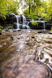 Hunts creek waterfalls in Sydney. Australia Stock Photos