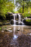Hunts creek waterfalls in Sydney. Australia royalty free stock photos