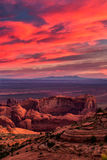 Hunts Mesa navajo tribal majesty place near Monument Valley, Ari Stock Images