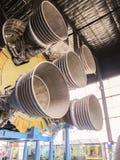 HUNTSVILLE, ALABAMA, de V.S. - 27 FEBRUARI 2011, motor van Saturn Royalty-vrije Stock Foto