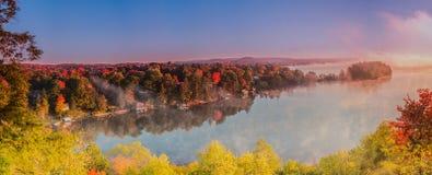 Huntsville-nascer do sol da vigia do ` s do leão Fotografia de Stock Royalty Free
