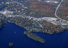 Huntsville Ontario, aéreo Imagenes de archivo