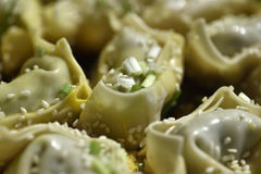 Huntun  Shanghai. The  tradition food in South china.Just like boiled dumplings in North china Stock Photo