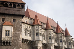 Hunyad Castle also known as Corvin Castle Stock Photography