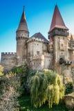 Hunyad Castle Stock Images