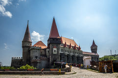 Hunyad Castle Royalty Free Stock Photography