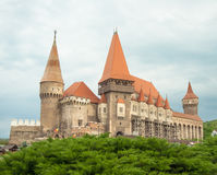 Hunyad Castle. Medieval castle in Transylvania. Vajdahunyad Royalty Free Stock Photography