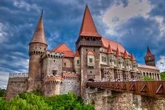 Hunyad Schloss lizenzfreies stockfoto