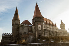 Hunyadi Castle from Transylvania Stock Image