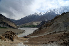 Hunza river Royalty Free Stock Photo